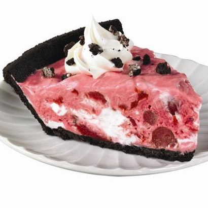 Cherry Chocolate Swirl Pie
