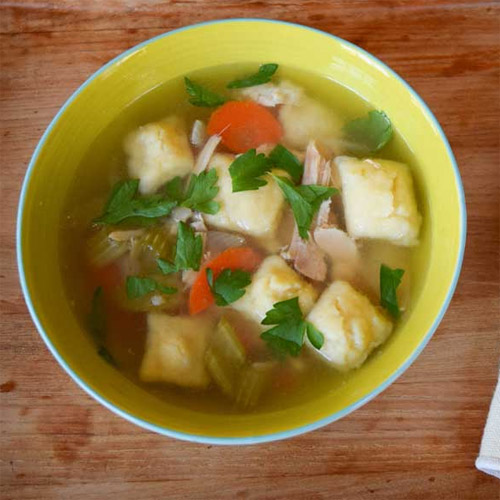 Kaitlin's Slow Cooker Chicken & Dumpling Soup
